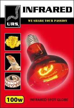 URS Infrared Heat Spotlight 100w