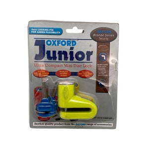 Oxford Junior Disc Lock - Yellow