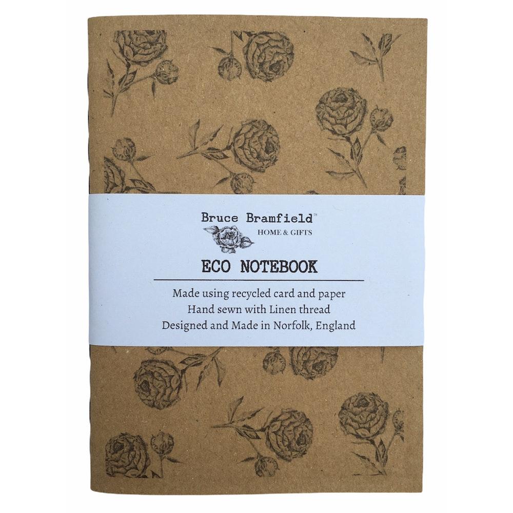 Bruce Bramfield Vintage Peony Eco Notebook