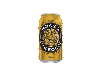 James Boag's St George Lager Can 375mL