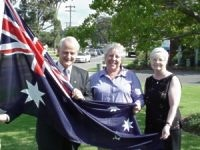 Attorney General hoists Dural's flag