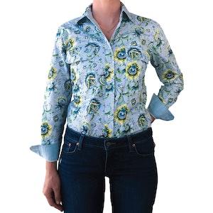April Full Button Work Shirt