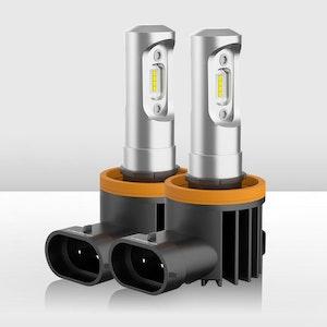 Pair H11 H9 H8 Led Headlight Driving Lamp Globe Bulbs Upgrade 6000LM