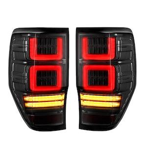 VLAND LED Tail Lights For Ford Ranger PX1 PX2 2012-2018 Wildtrak T6 XL XLT XLS