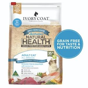Ivory Coat Adult Cat Ocean Fish & Salmon Grain Free Cat Food 6kg