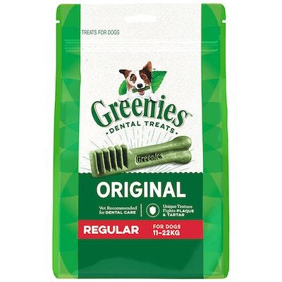 Greenies Original Regular Dogs Dental Treats 11-22kg - 3 Sizes