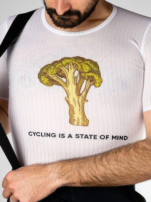Twenty One Cycling Factory Lightweight base layer - Broccoli - Men