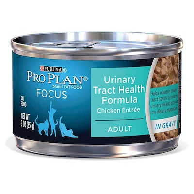 Pro Plan Focus Urinary Tract Health Adult Chicken Entree Wet Cat Food 85G