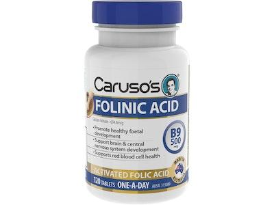 Caruso's Natural Health Caruso's Folinic Acid