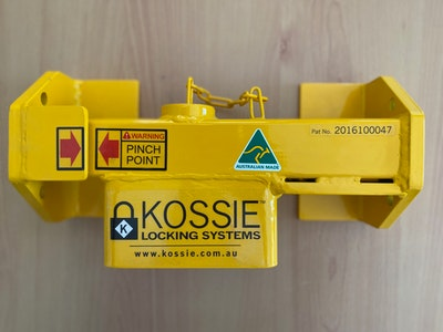 Kossie Locking Systems Shipping Container Lock for Reefer Container Padlock Included