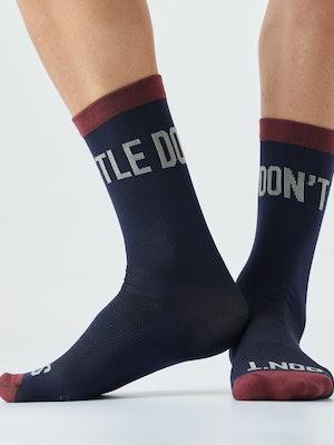 Givelo G Socks Navy Ds