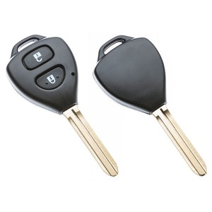 Silca Toyota Triangle 2 Button Replacement Key Shell