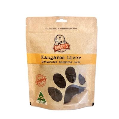 Bugsy's Pet Supplies HEALTHY SNACKS | Dehydrated Australian Kangaroo Liver Dog Treats