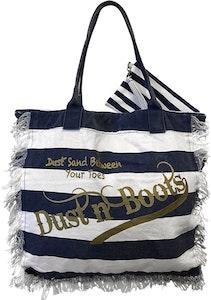 NEW Navy Frayed Beach Bag