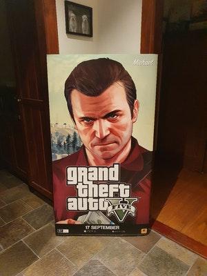 Grand Theft Auto 5 - Michael - Security Gate Cover - Large Print Merchandise