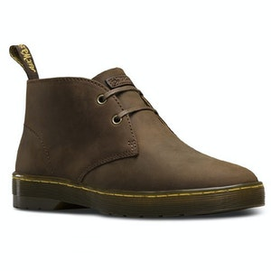 Boutique Medical Dr. Martens Cabrillo 2 Eye Shoes Lace Up Boots Leather Chukka - Gaucho