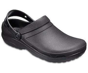 Boutique Medical Crocs Specialist II Clog Work Occupational Bistro Roomy Fit Unisex - Black
