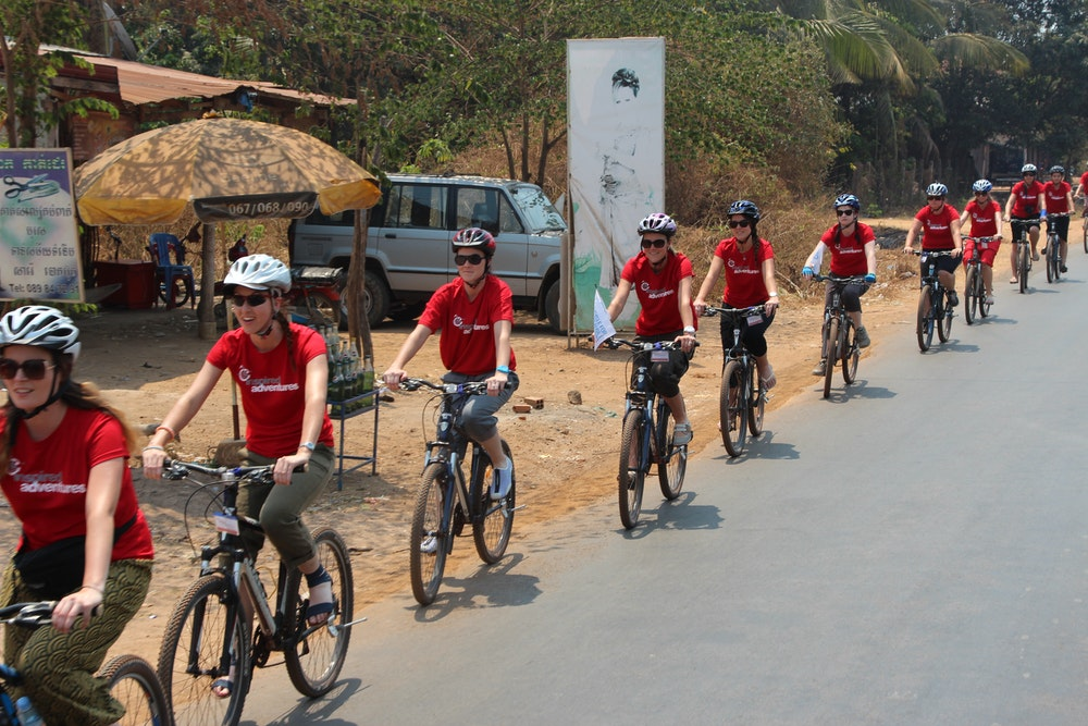 Cambodia Plan Cycle For Girls 2013 Cycle For Girls Participants Cycling 258