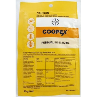 Bayer Coopex Residual General Inseticide Sachet C5060