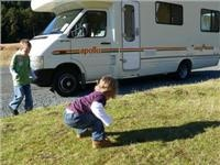 Motorhome adventures with children - New Zealand South Is tour