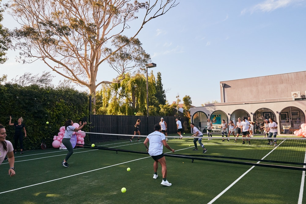 JAGGAD x AIA Vitality tennis tournament in Bec Judd's backyard