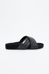 1 People Portonovi VEGEA Slippers in Oyster Black