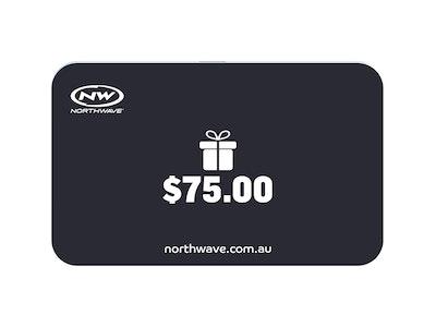 $75 Northwave Australia e-Gift Card