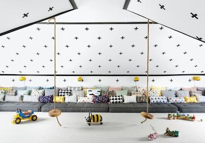 Monochrome Playroom | Shop The Look
