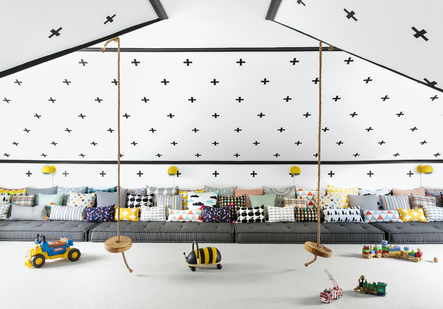 Monochrome Playroom | Shop The Look