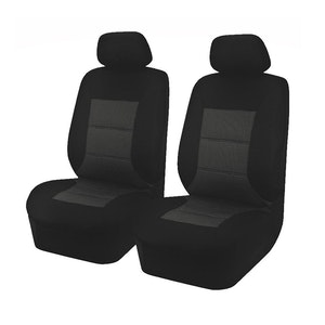 Universal Premium Front Seat Covers Size 30/35 | Black