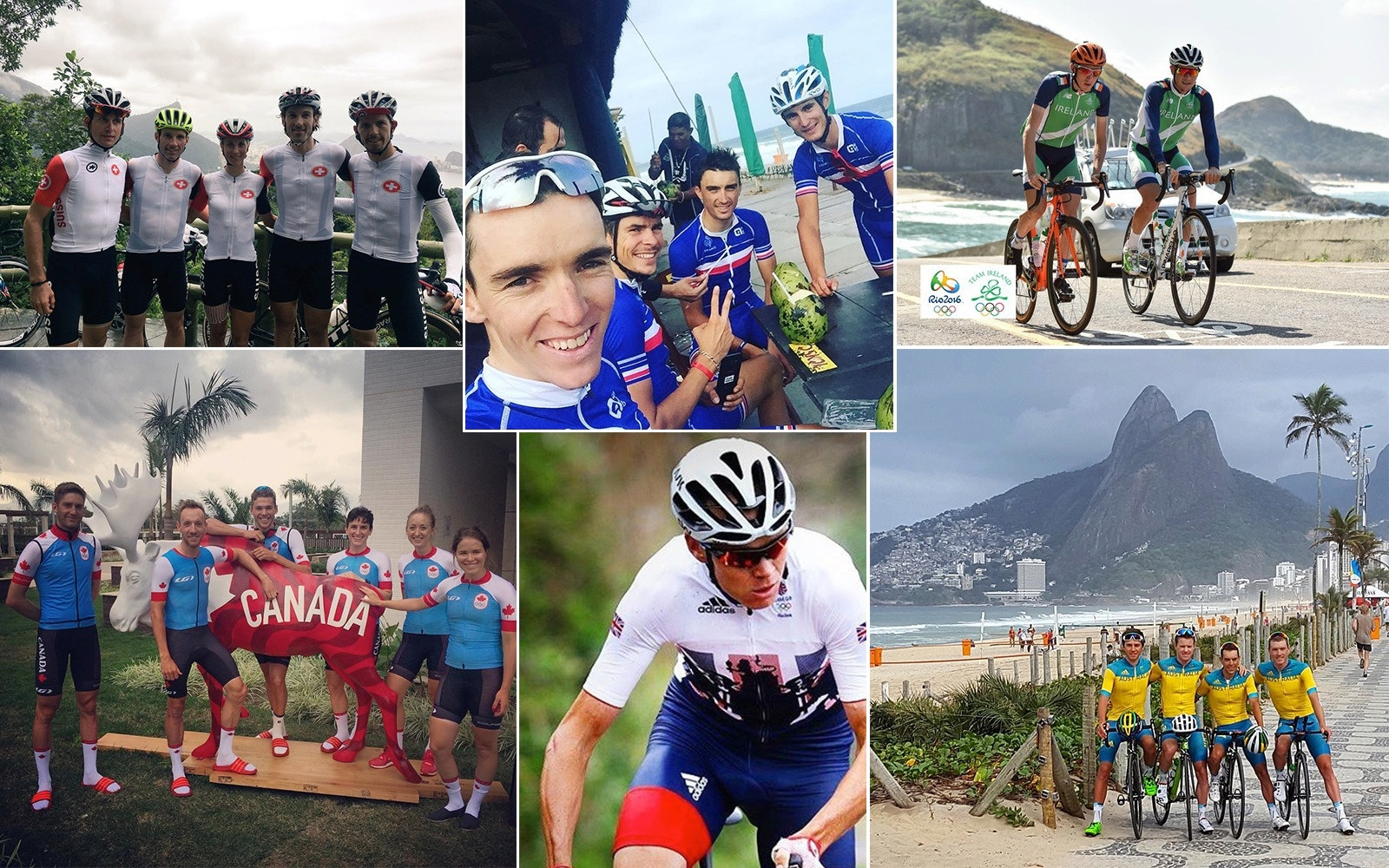Rio Olympics: Team kits of the men's road race