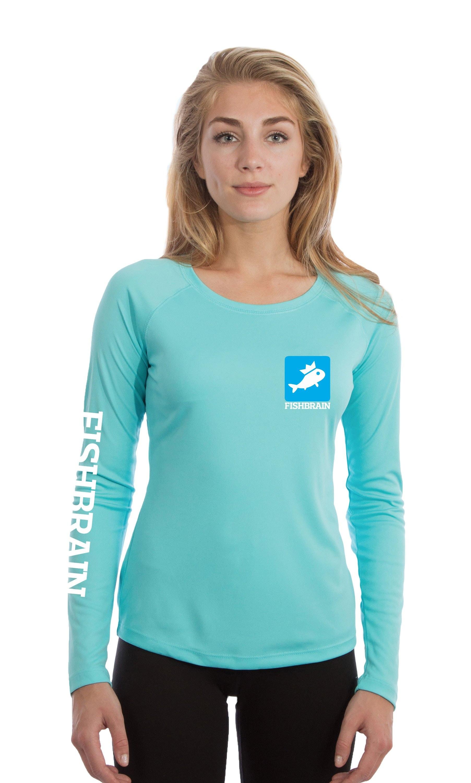 Women's Long-Sleeve Shirt - Water Blue