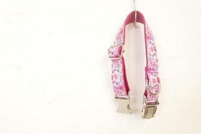 Barker & Bone Dog Collar | Pink Flower