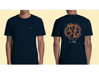 Interstellar Beverages Horoscope [MALE] T-Shirt Leo