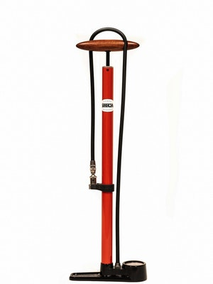 SILCA Pista Floor Pump 220psi - Red