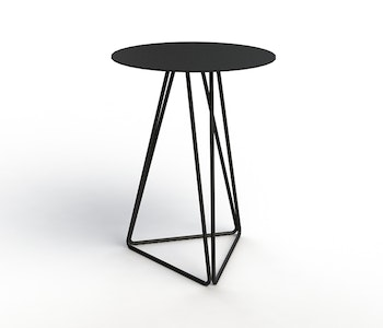PRE ORDER - Contorto Jazz Side Table - Gold Spec