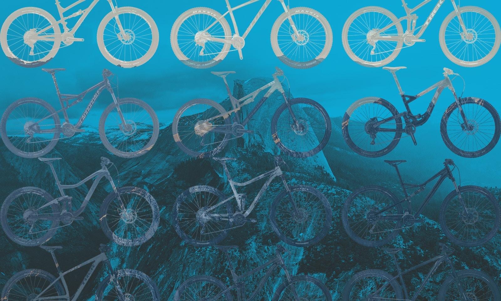 Best Trail Mountain Bikes for under $2500