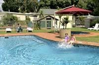 Splish splash courtesy Melbourne BIG4 Holiday Park