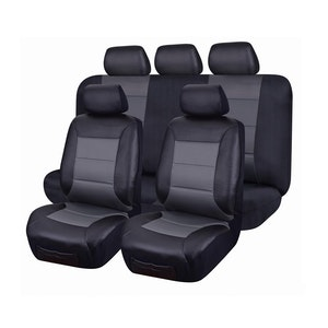 Leather Look Seat Covers for Holden Captiva CG5 MY10-15 09/2009-01/2016 2ROWS