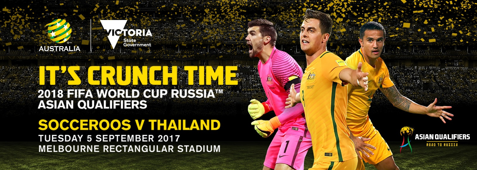World Cup Qualifier - Socceroos v Thailand