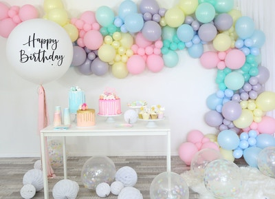 A SWEET SORBET BALLOON PARTY