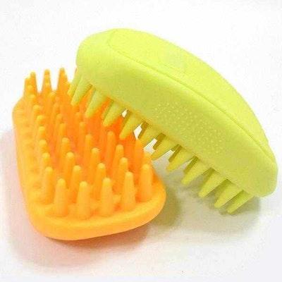 DoggyTopia Silicone Massage Brush