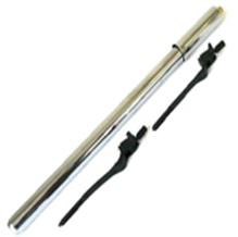 Steel Pump A/V Silver NO.301C, Pumps & CO2 Cartridges