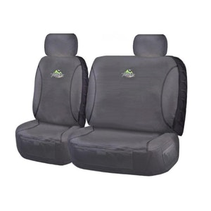 Trailblazer Seat Covers For Nissan Patrol Gq-Gu Y61 Series 1999-2016 Single Cab | Charcoal