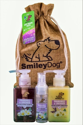 Smiley Dog Gift Pack Chamomile and Lavender