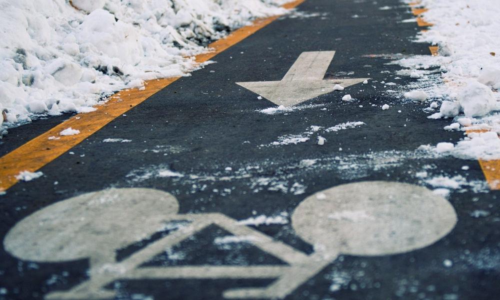 Mit dem Bike sicher durch den Winter