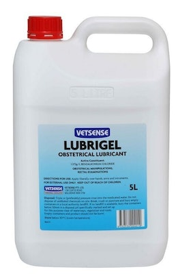Vetsense Lubrigel Obstetrical Lubricant for Pet Rectal Exam 5L