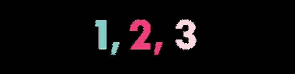 LENZO | 1,2,3