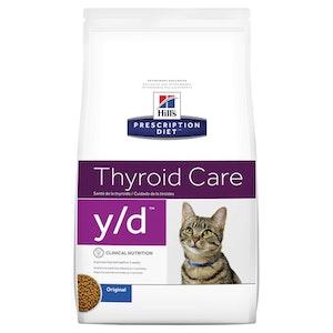 Hill's Prescription Diet Cat y/d Thyroid Care 1.8kg