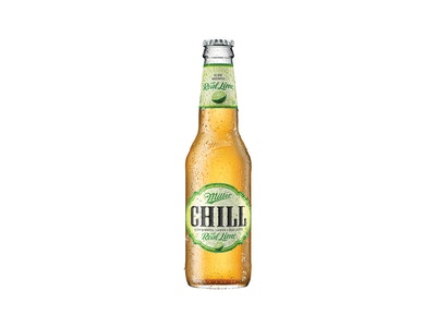 Miller Chill with Lime Lager Bottle 330mL